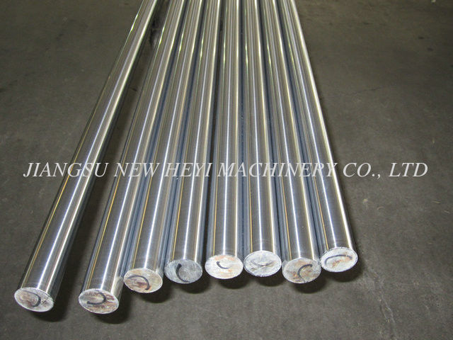 Round CK45 Hard Chrome Plated Steel Rod / Cold Drawn Steel Bar